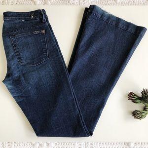 7 FAM Wide Leg Jean